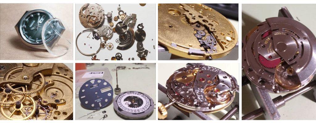 Fasi riparazione orologio Federici Gioielleria