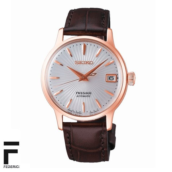 Seiko SRP852J1 Presage donna rosato orologio automatico