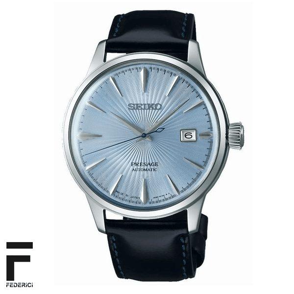 Seiko SRPB43J1 Presage orologio automatico quadrante azzurro